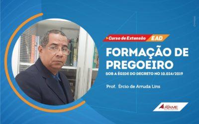 Curso de extensão EAD: FORMAÇÃO DE PREGOEIRO
