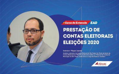 CURSO PRESTAÇÃO DE CONTAS ELEITORAIS – ELEIÇÕES 2020